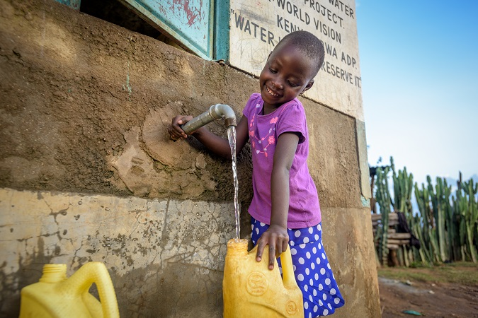 Clean water causes