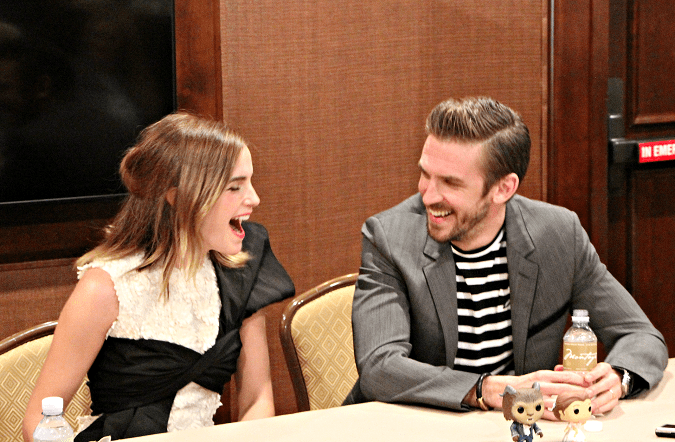Emma Watson Dan Stevens beauty and the beast interview