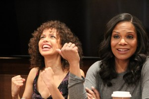Gugu Mbatha-Raw & Audra McDonald Interview | Adding Diversity to Beauty and the Beast #BeOurGuestEvent