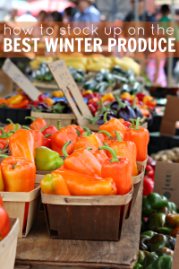 How to Stock Up on the Best Winter Produce