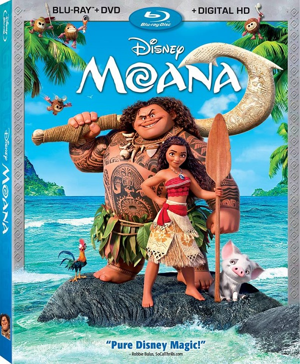 Moana on Bluray