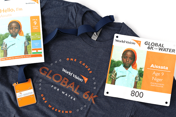 World vision global 6k for water race gear