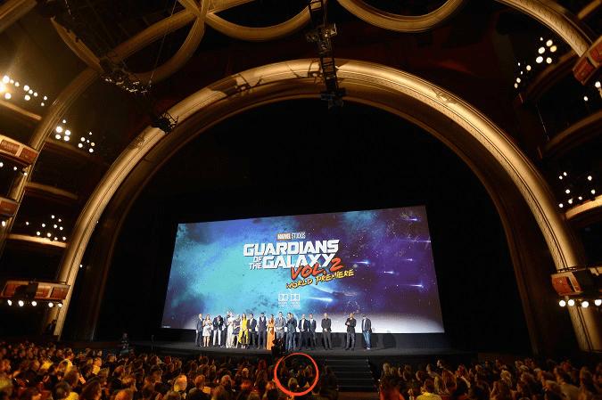 Guardians vol 2 premiere