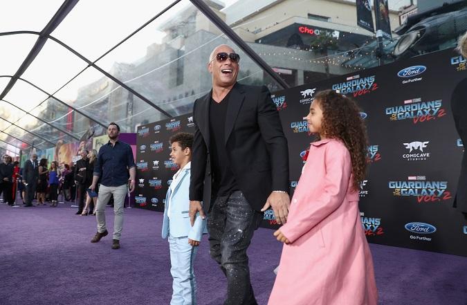 Vin Diesel Guardians 2 premiere