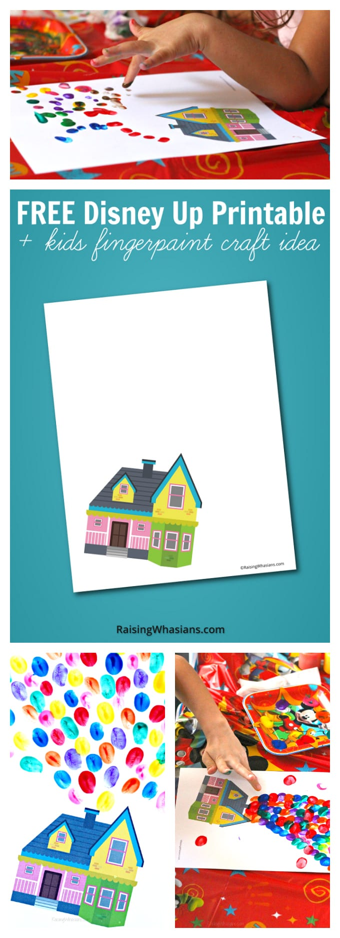 Free Disney Up Printable Kids Craft Idea Raising Whasians