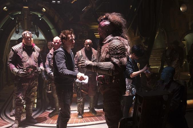 Guardians 2 cameos James Gunn interview