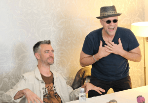Michael Rooker & Sean Gunn Interview | Yondu & Kraglin Say Cheese in Guardians 2 #GotGVol2Event