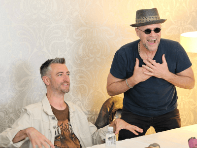Michael Rooker Sean Gunn interview Yondu Kraglin guardians