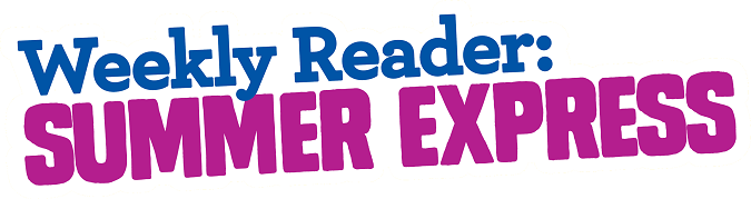 Weekly reader summer express logo