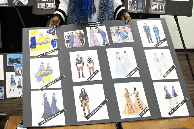Descendants 2 costumes interview
