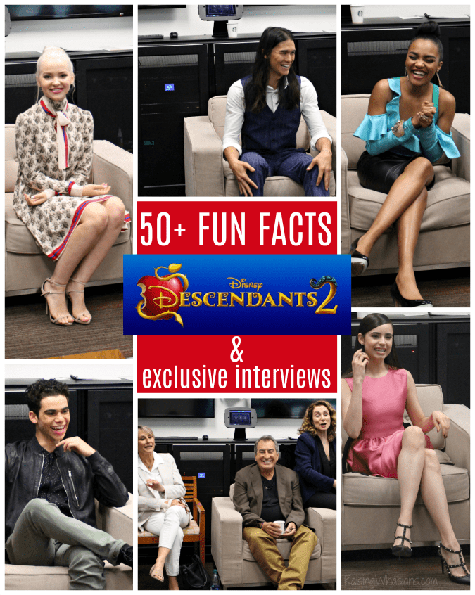 Descendants 2 fun facts