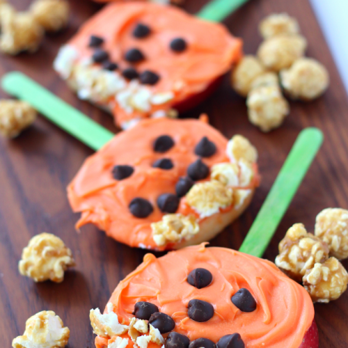 Pumpkin pops apple snack