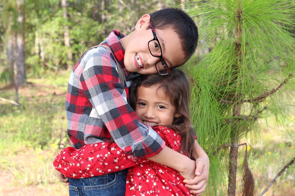 Christmas photo tips kids