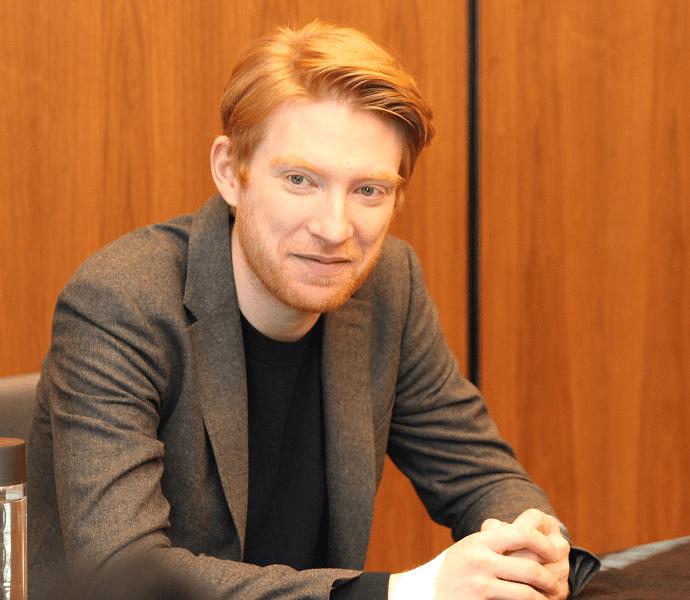 Domhnall Gleeson interview star wars the last jedi