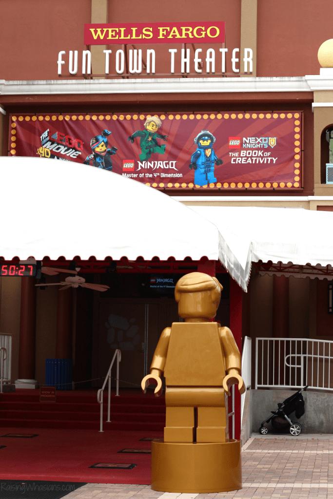 Lego Ninjago days 4D show