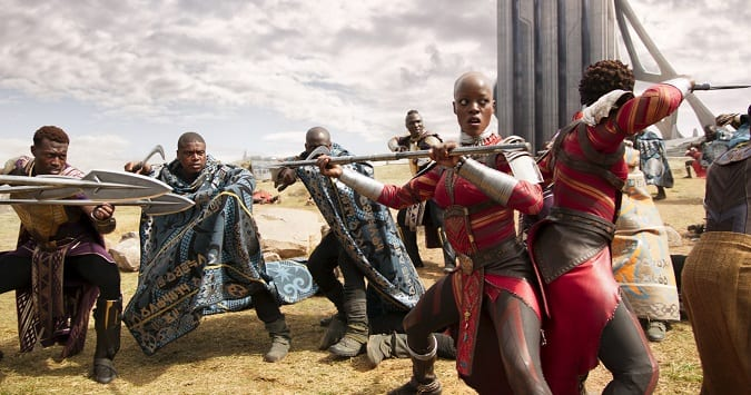 Black panther movie review diversity