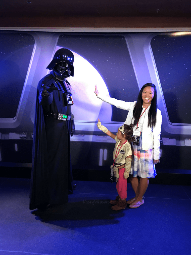 Star wars day at sea photo opps