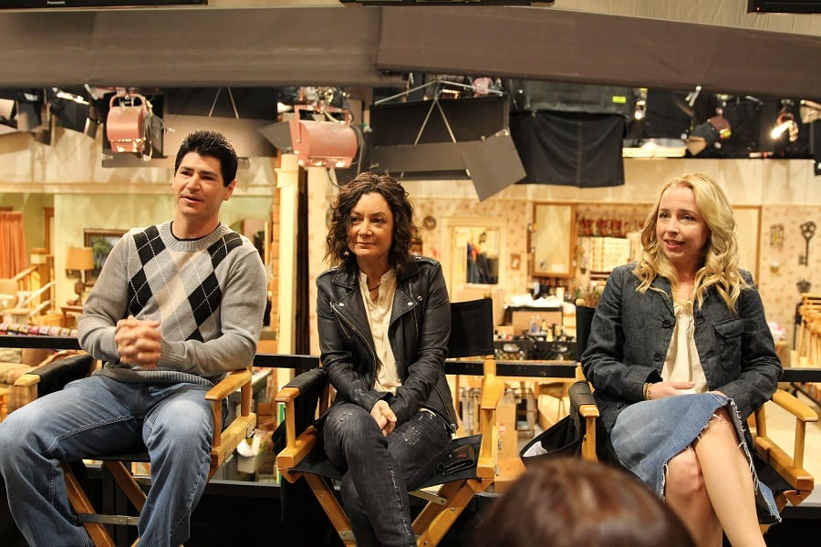 Roseanne cast interview Sara Gilbert