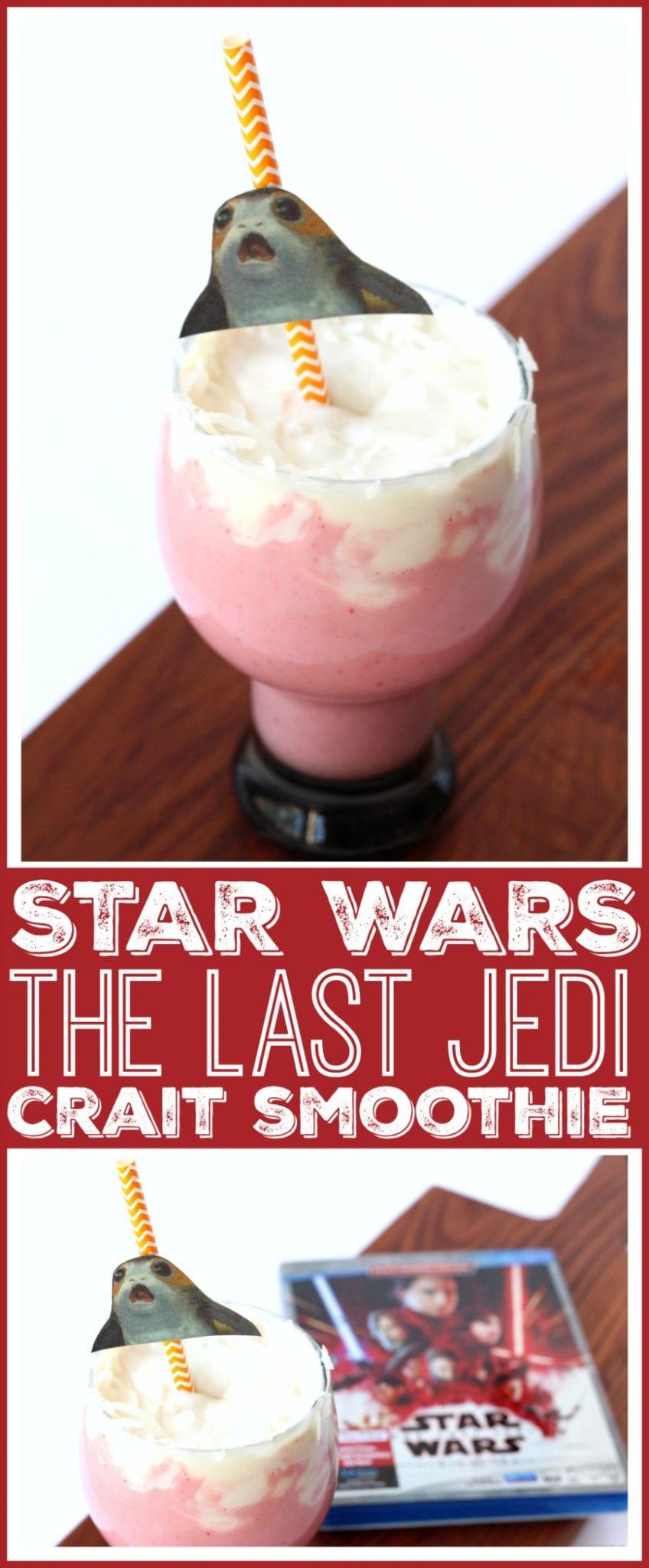 The last jedi party drink idea