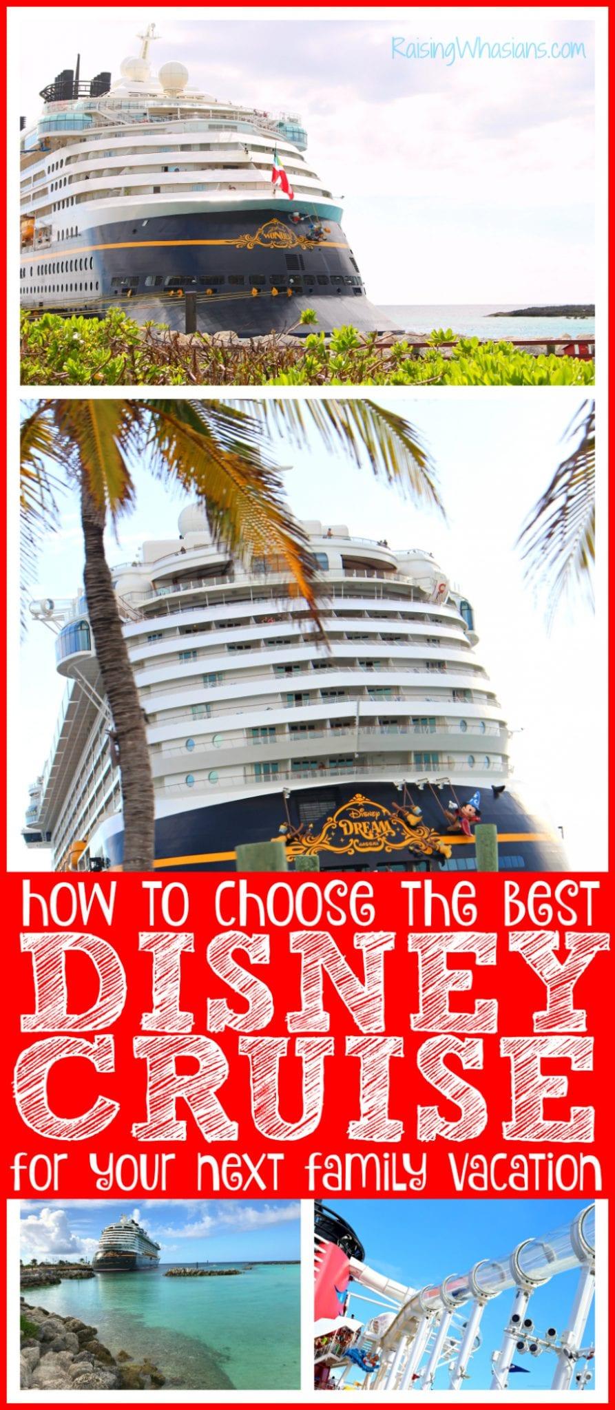How to plan Disney cruise