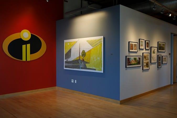 Incredibles 2 art gallery Pixar animation studios