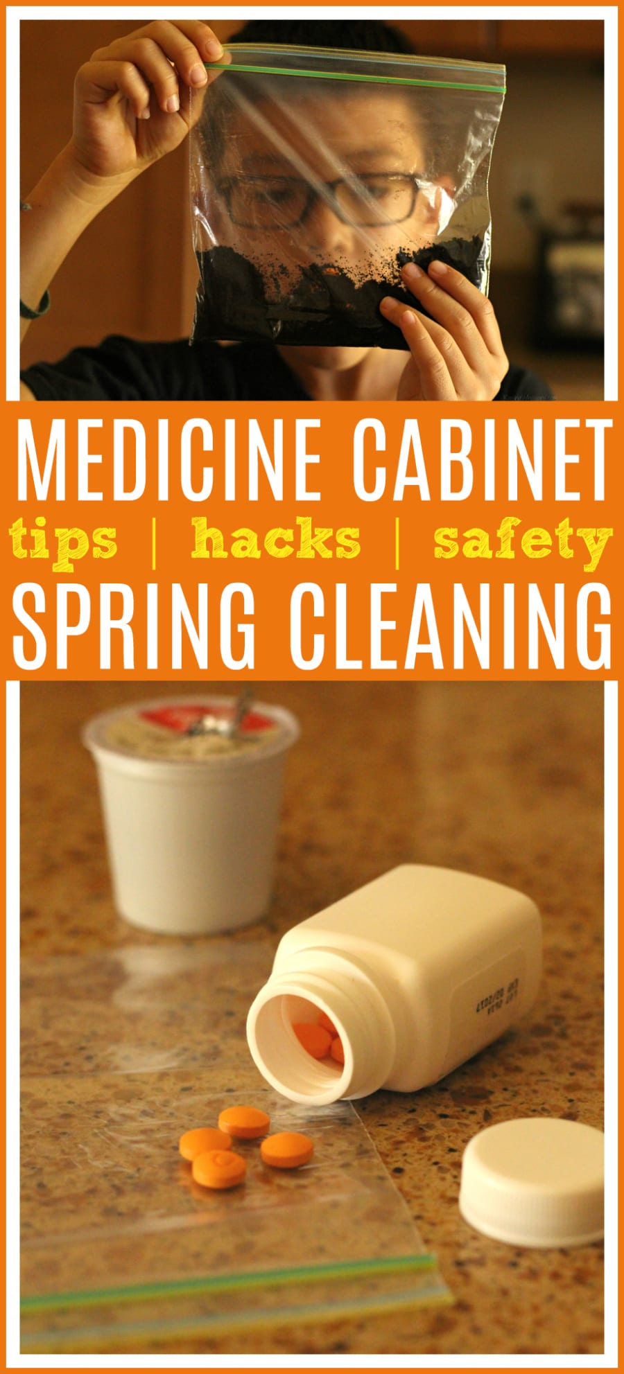Medicine cabinet spring cleaning