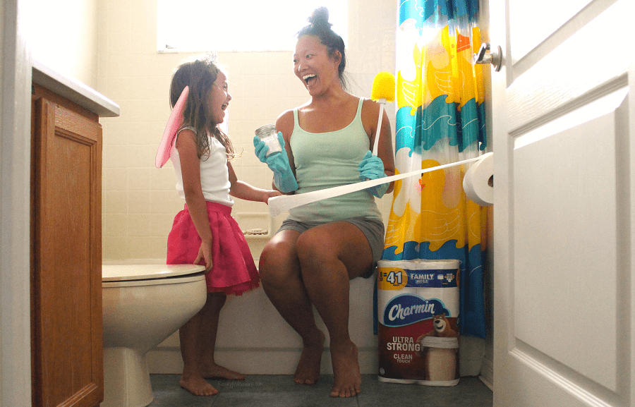 Kids spring cleaning tips
