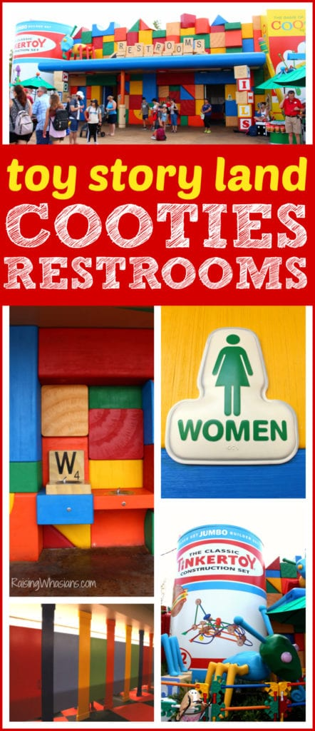 Toy story land restrooms best