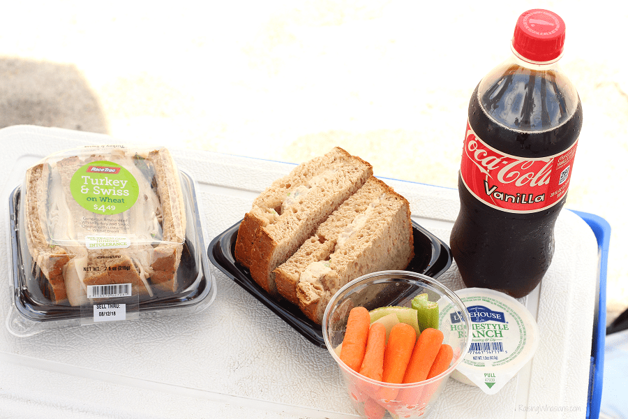 RaceTrac free food offer