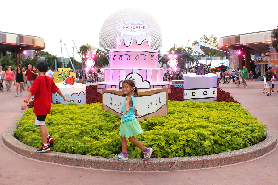 Epcot food and wine festival for kids