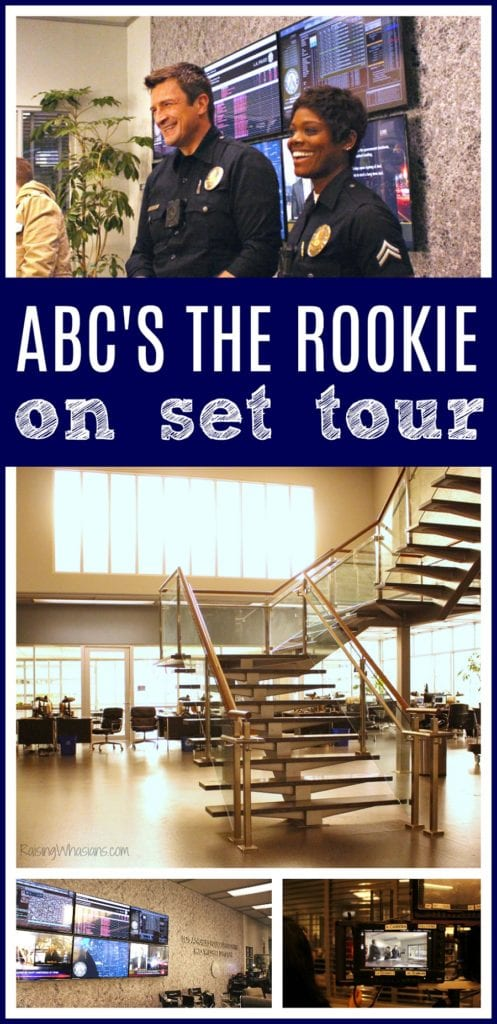 ABC the rookie on set tour
