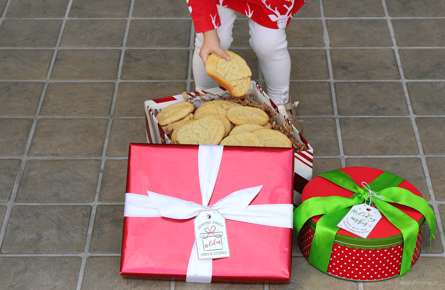 Christmas cookie tag ideas