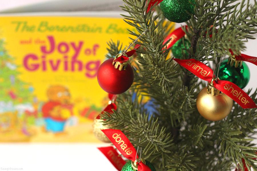 Giving tree for Christmas
