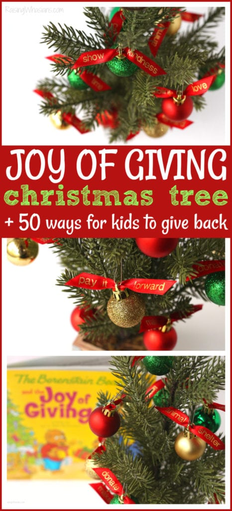 Giving tree for kids