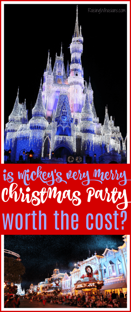Is Mickey's very merry Christmas party worth the money