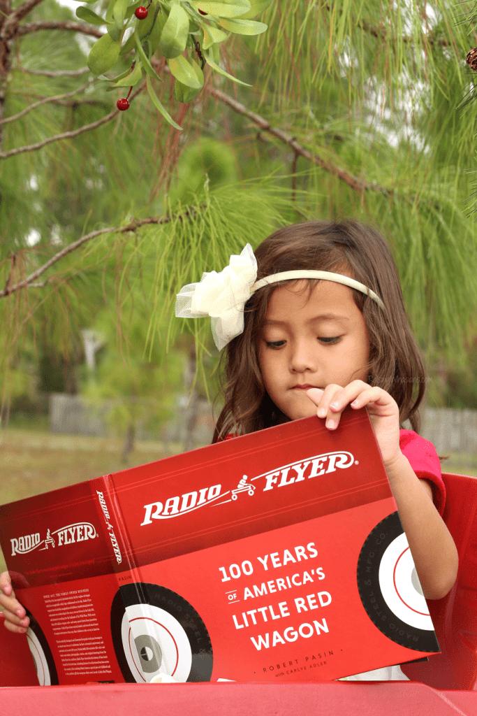 Radio flyer little red wagon book