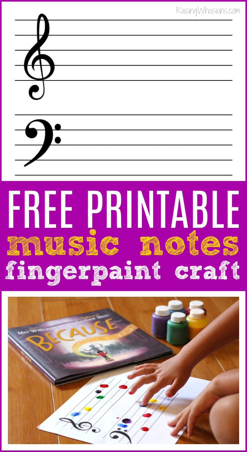 Free music notes printable