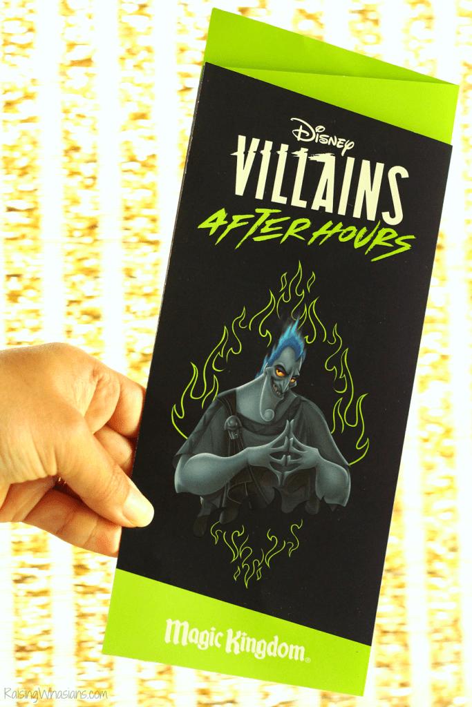 Disney villains after hours souvenirs