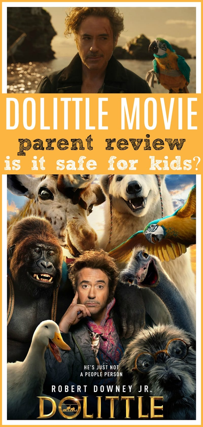 Dolittle parent movie review