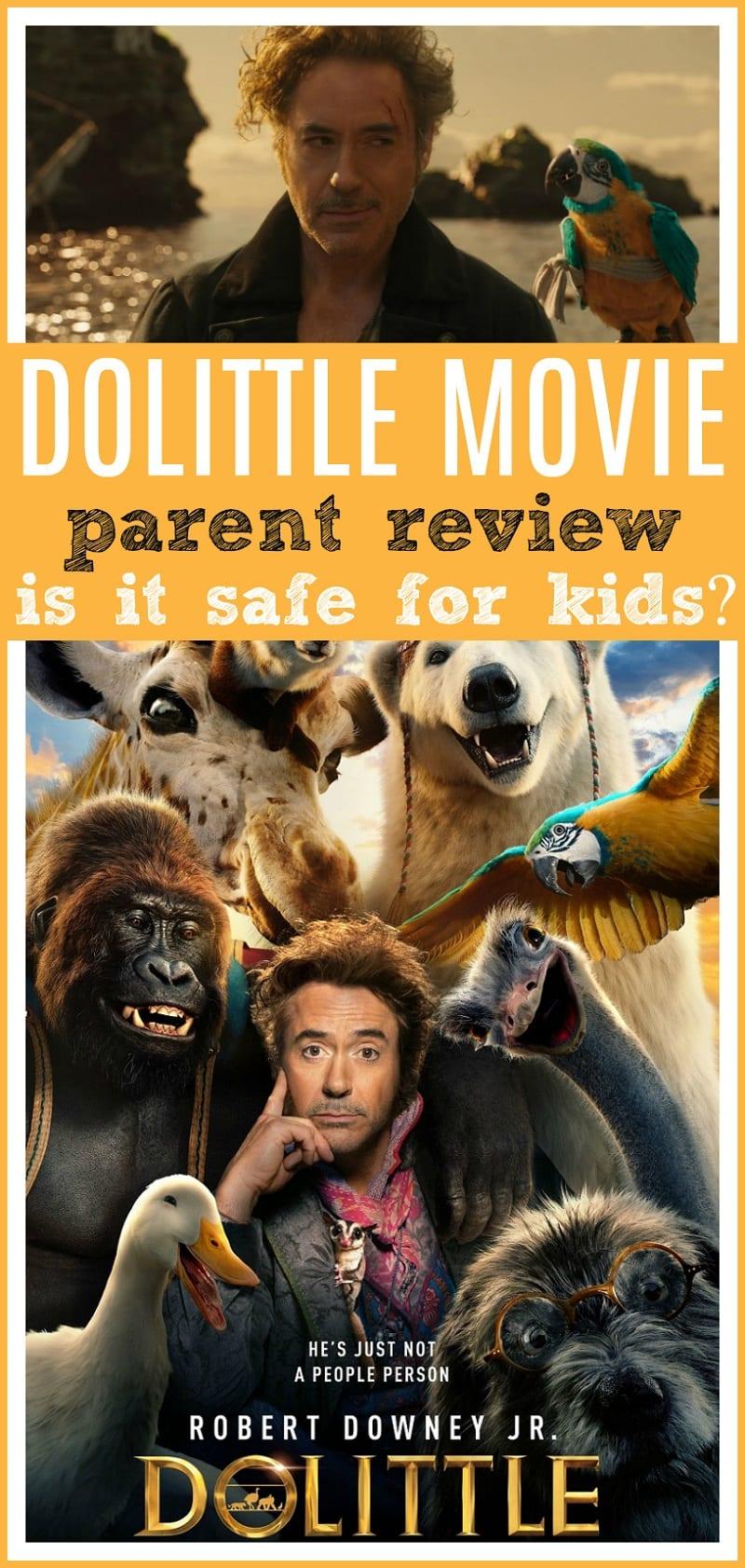 Dolittle parent movie review