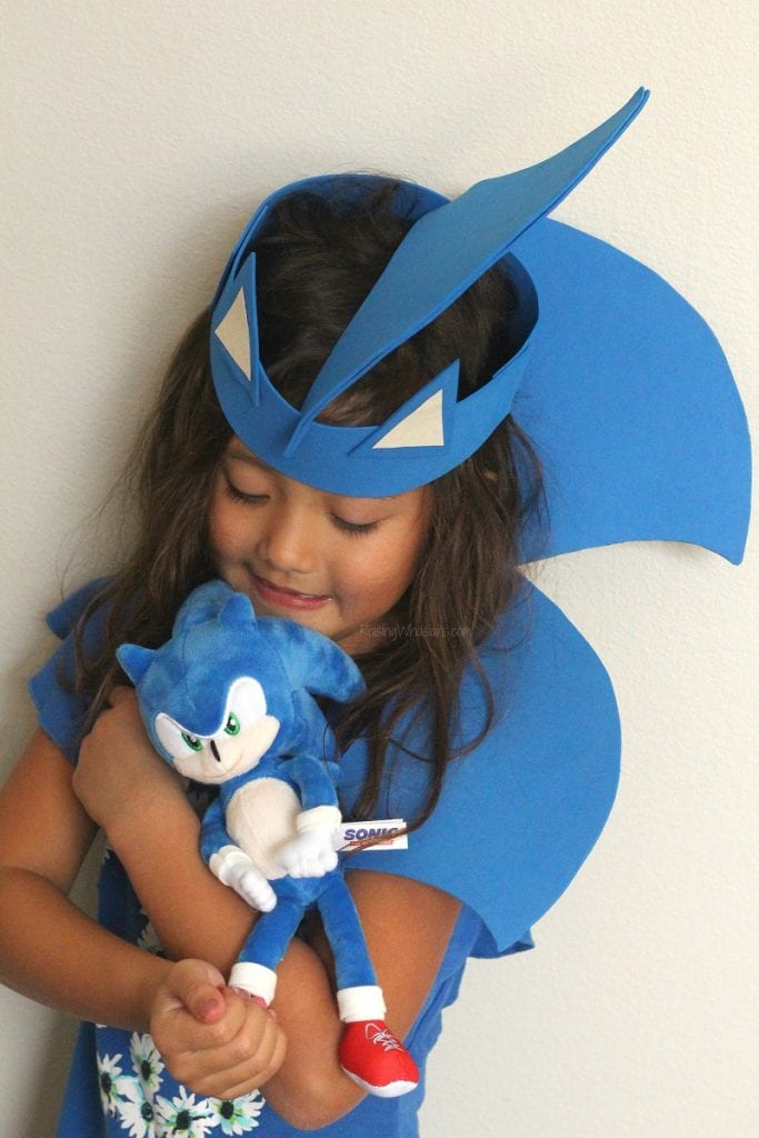 Sonic the hedgehog craft for kids