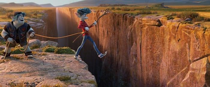 Pixar onward movie ok for children