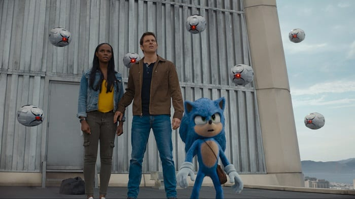 Sonic the hedgehog movie review for children