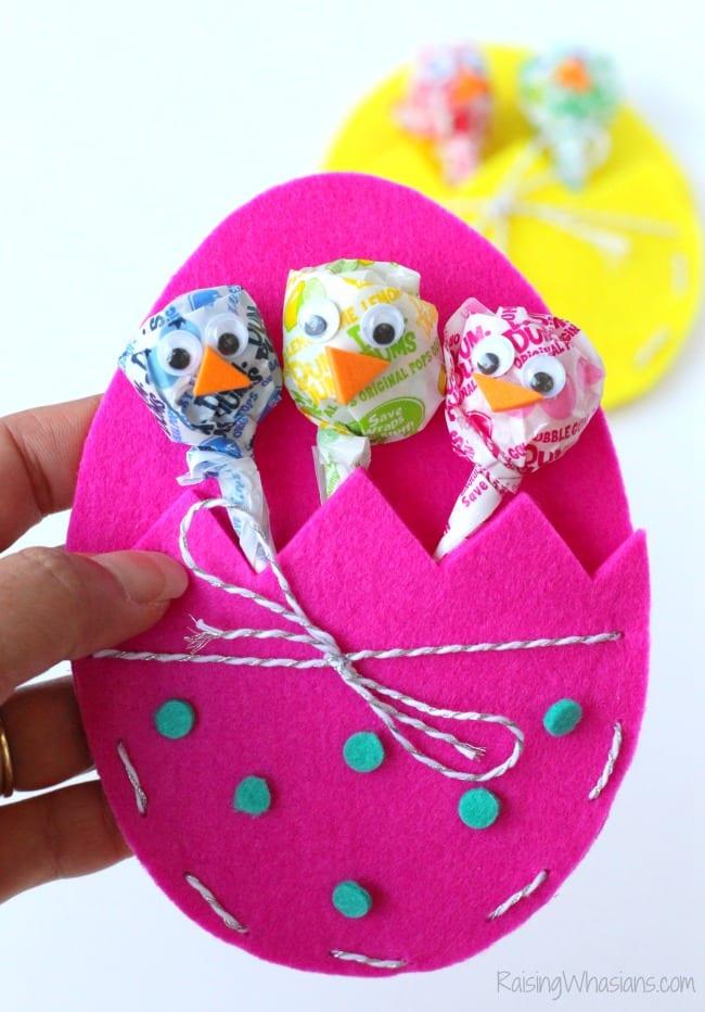 Easter chicks kids craft