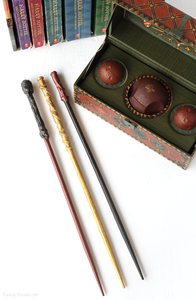 Make your own Harry Potter wands
