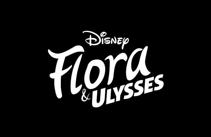 Flora & Ulysses movie logo