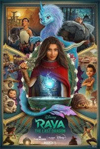 Raya and the last dragon movie review safe for kids