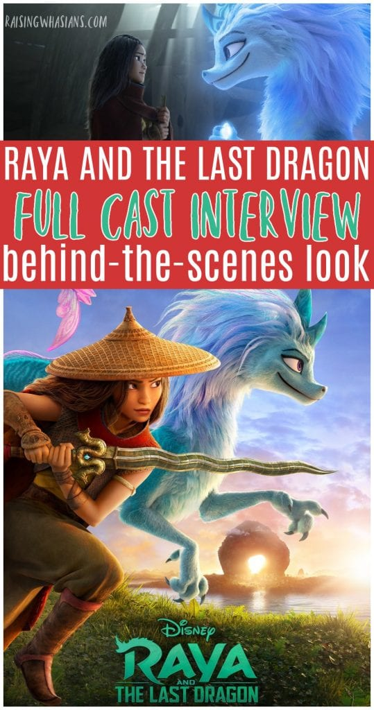 Raya cast interview