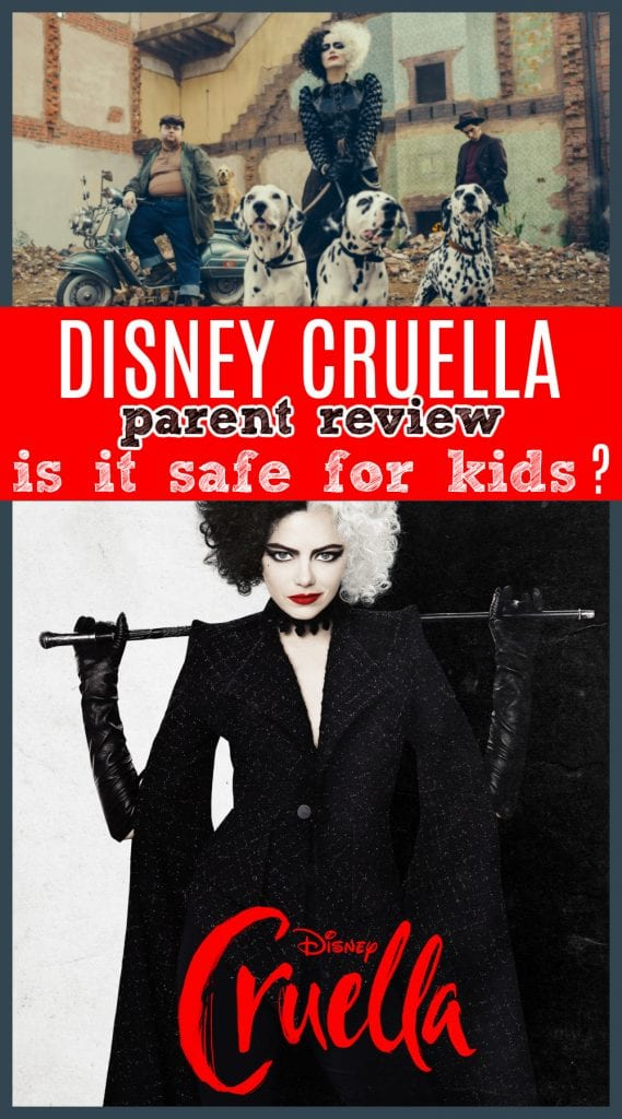 Cruella movie review for parents