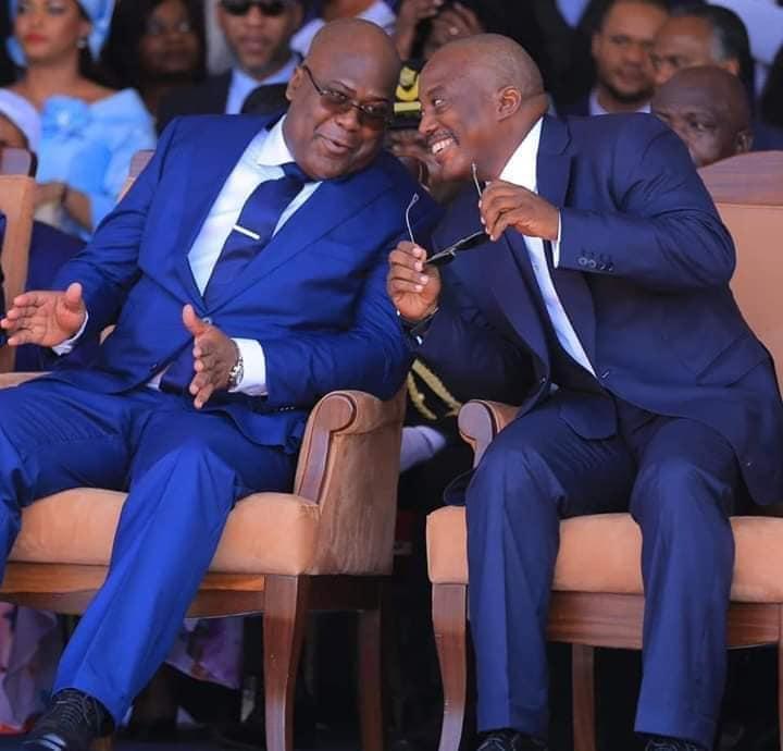 Felix Tshisekedi and Joseph Kabila